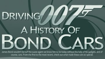 A History Of Bond Cars [InfoGraphic]