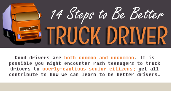 14 STEPS TO BE BETTER TRUCK DRIVER