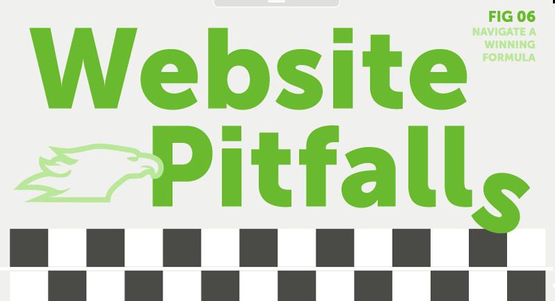 WEBSITE PITFALLS