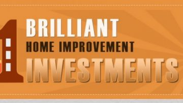 Best Home Improvement Investments [InfoGraphic]