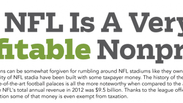 NFL Tackles The Taxpayer