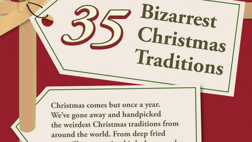 2013 – 2014 BIZARRE CHRISTMAS TRADITIONS AROUND THE WORLD