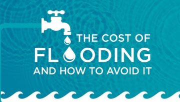 The Cost of Flooding and How to Stay Afloat When Disaster Strikes [InfoGraphic]