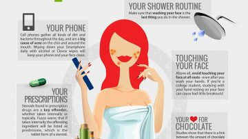 7 Causes and Foods That can Trigger your Acne [InfoGraphic]