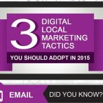 Three Digital Marketing Tactics that Work Best in 2015