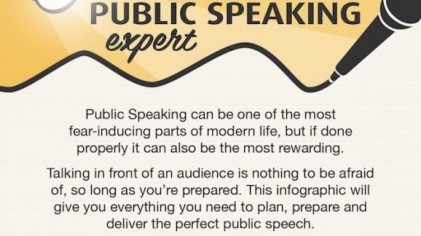 A 9-STEP Cheat Sheet FOR BECOMING A PUBLIC SPEAKING Expert [INFOGRAPHIC}