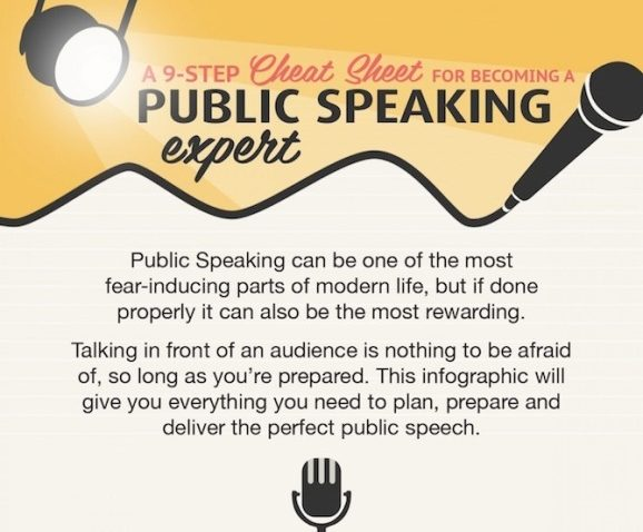 A 9-STEP Cheat Sheet FOR BECOMING A PUBLIC SPEAKING Expert