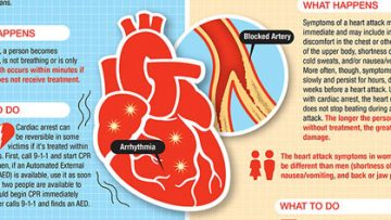 Know The Difference: Cardiac Arrest and Heart Attack [Infographic]