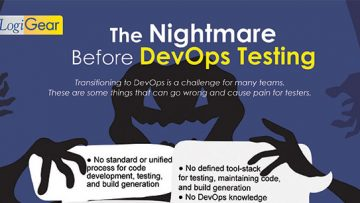 The Nightmare before DevOps Testing (InfoGraphic)