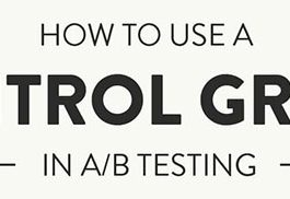 How to use a Control Group in A/B Testing