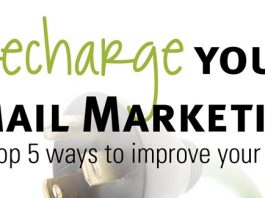 TOP 5 WAYS TO IMPROVE YOUR EMAIL MARKETING
