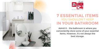 Bathroom Essential Items
